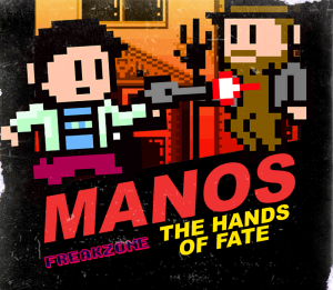 Manos, the game cover